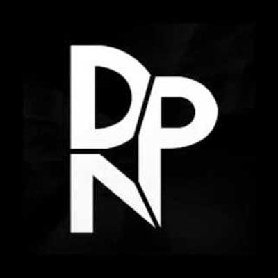 Zwart wit logo van DNPNL