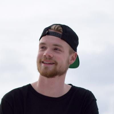 Freestyle voetballer Christiaan van der Weijde